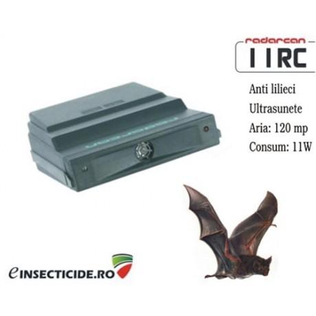 Dispozitiv electronic cu ultrasunete anti lilieci (120 mp) - Radarcan 11RC