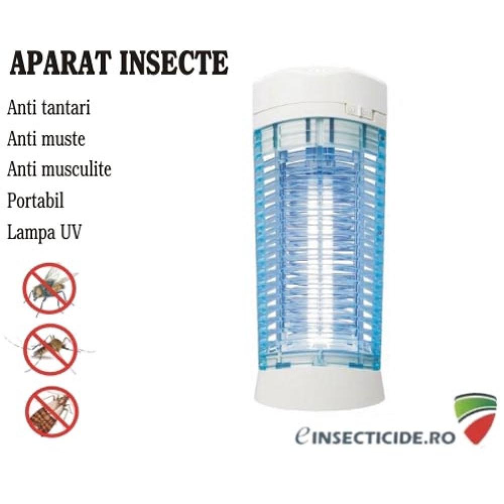 Aparat cu ultraviolete anti insecte zburatoare - 11W (25 mp)