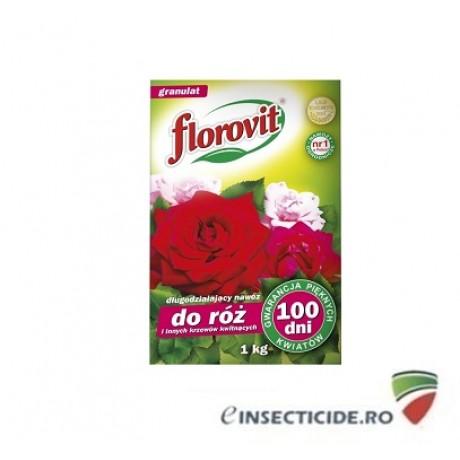 Ingrasamant specializat granulat pentru trandafiri si alti arbusti ornamentali cu efect prelungit 100zile (1 Kg)