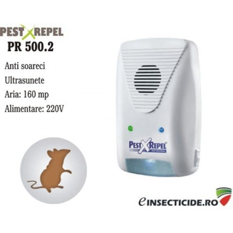 Fara soareci cu ajutorul ultrasunetelor (160mp) - PR 500.2