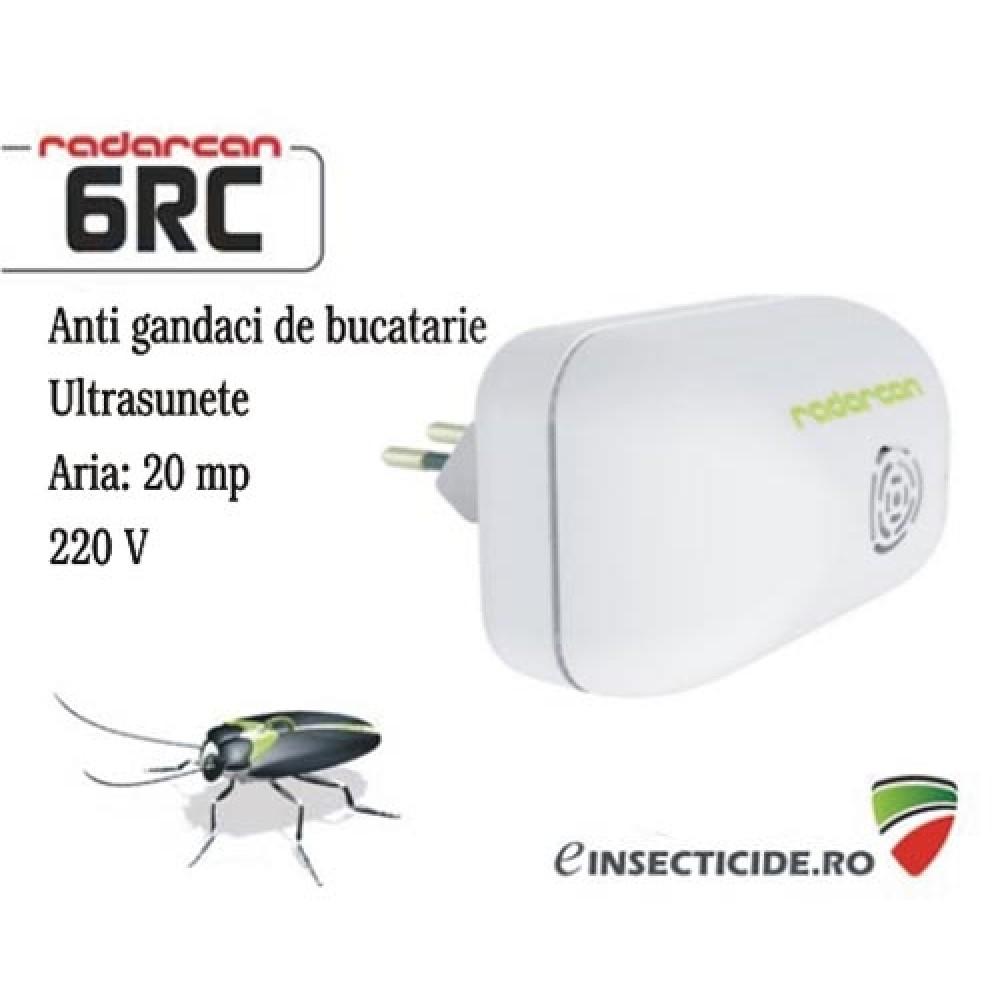 -35% reducere Anti gandaci de bucatarie cu ultrasunete (20mp) - Radarcan 6RC