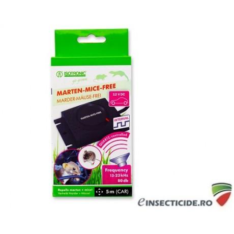 Generator ultrasunete pentru protectia automobilelor impotriva daunatorilor (soareci, sobolani, jderi, dihori) - Marten Mice Free 78440
