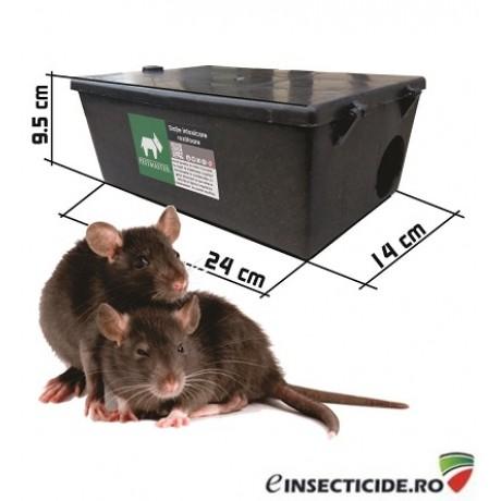 Statie de intoxicare rozatoare: soareci, sobolani Pestmaster LMC