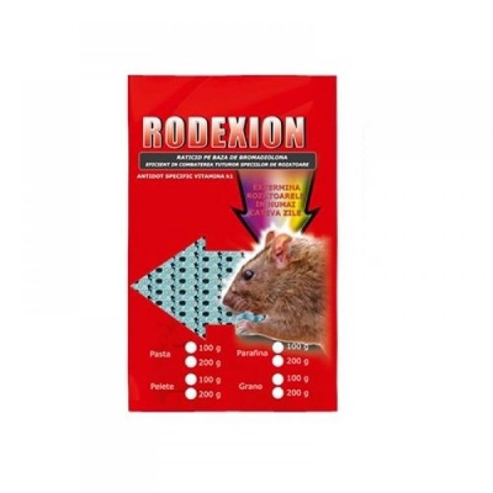 Pasta raticida contra rozatoarelor (100gr) - Rodexion