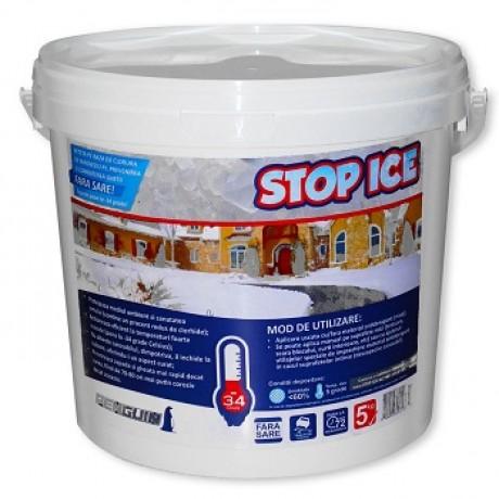 Produs biodegradabil pentru deszapezire si combatere gheata 5kg - STOP ICE-