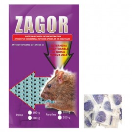 Pasta raticida contra rozatoarelor (100gr) - Zagor