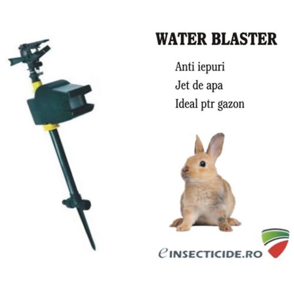 Water Blaster Solar anti iepuri protejeaza gradina cu ajutorul apei (10 mp)