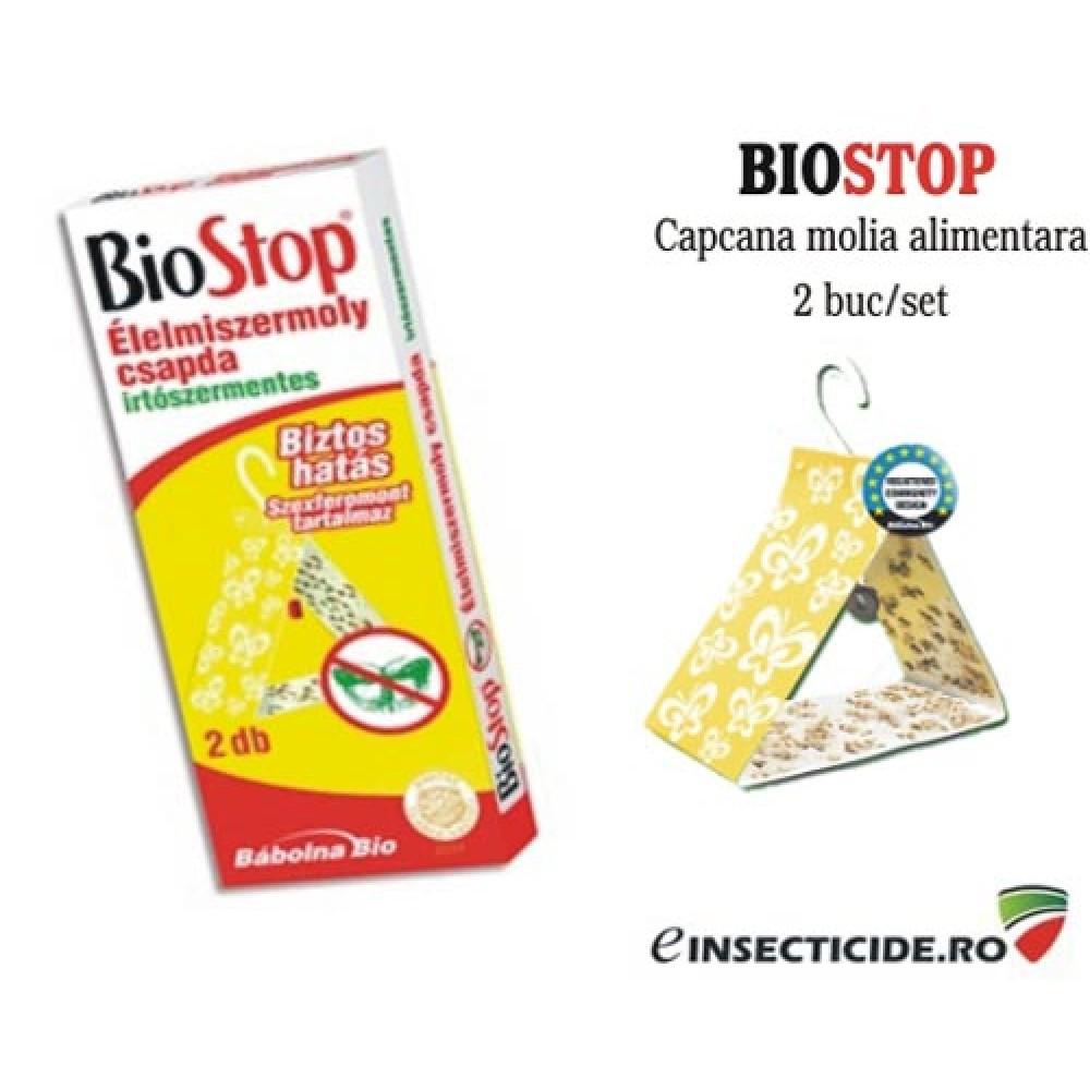 Capcana cu feromoni anti molii alimentare pentru suprafete mari - Biostop