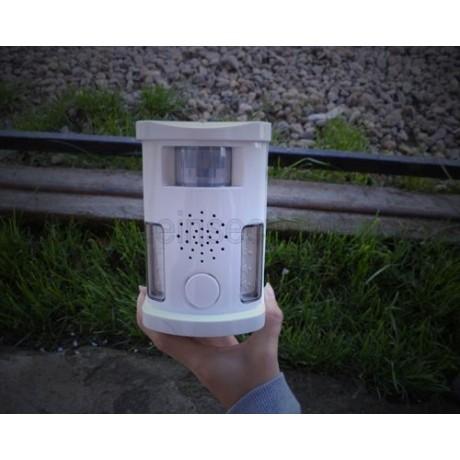 Repeller anti iepuri cu ultrasunete si alarma acustica (70 mp) - UAF03