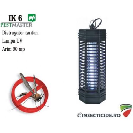 Lumina ultravioleta ce elimina insectele zburatoare (90 mp) - Pestmaster IK6