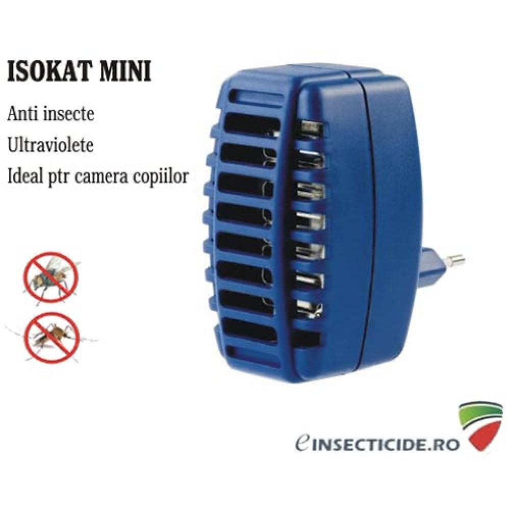 Anti insecte pentru priza (20 mp) - Isokat Mini