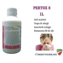Solutie profesionala ce combate: acarieni si alte insecte - Pertox 8 (1L)