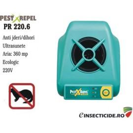 Dispozitiv antirozatoare cu ultrasunete (jder/dihor) (360 mp) - PR 220.6