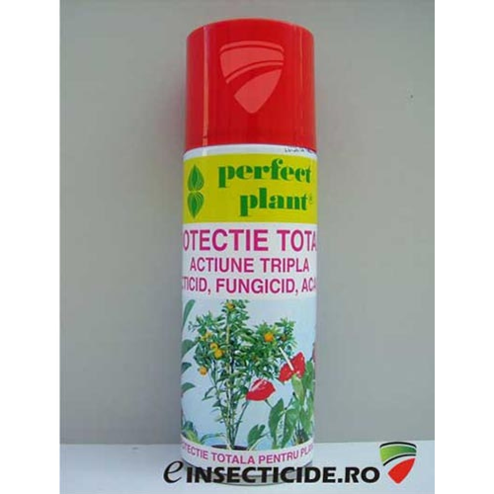 Spray protectie totala PP 200ml - Perfect Plant, fungicid, acaricid, insecticid