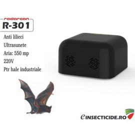 Aparat anti lilieci pentru zone mari (500 mp) - Radarcan R-301