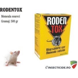 Momeala anti soareci sub forma de boabe cerealiere (500 gr) - Rodentox