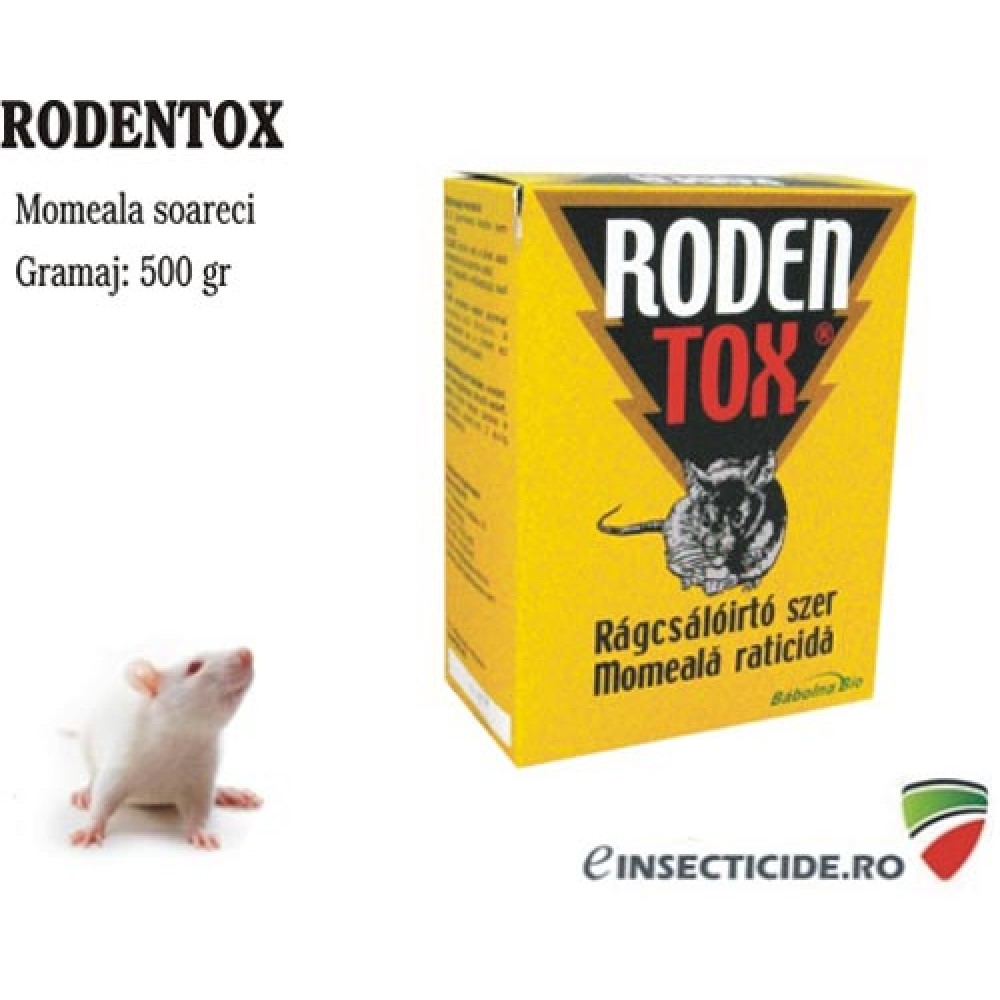 Anti sobolani - boabe cerealiere Rodentox (500 gr)