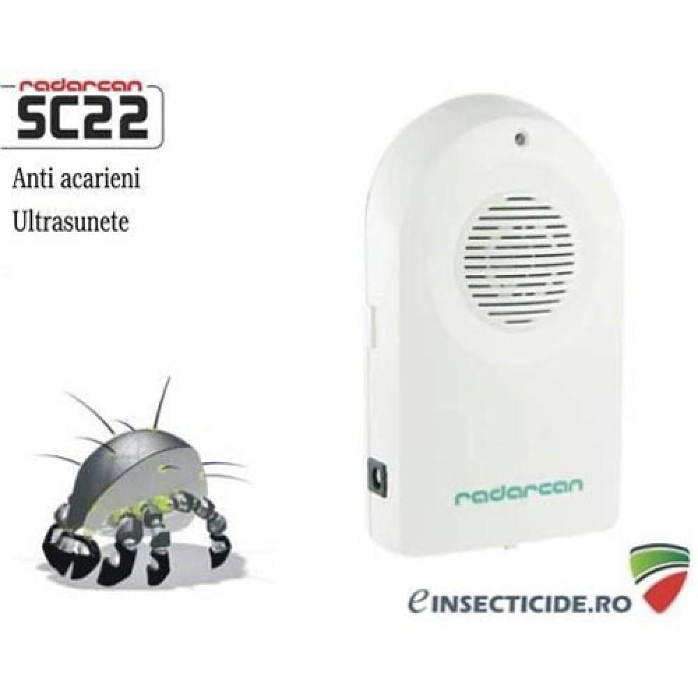 Dispozitiv cu ultrasunete anti acarieni (40mp) - SC22
