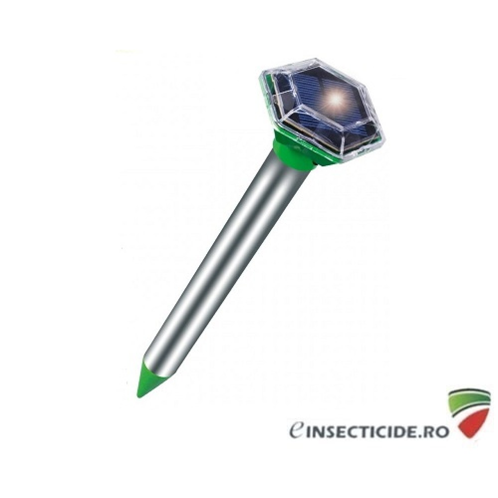 Solar Diamond Plus 70045 aparat anti rozatoare (soareci, cartite, reptile) cu ultrasunete si vibratii (1000mp)