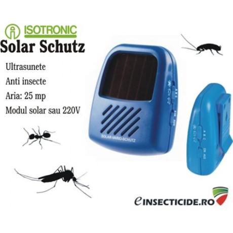 Dispozitiv cu emisie de ultrasunete impotriva gandacilor (25mp)
