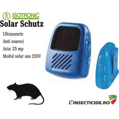Aparat portabil impotriva soarecilor cu incarcare solara - Solar Vario Schutz