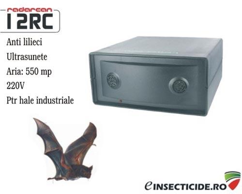 Aparat anti lilieci pentru zone mari (500 mp) - Radarcan 12RC