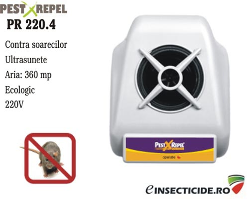 Aparat cu ultrasunete anti soareci (360mp) - PR 220.4