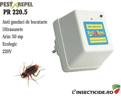 PR 220.5 ultrasunete anti soareci si gandaci (50mp)