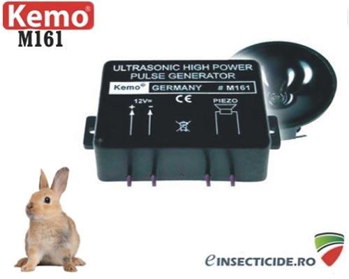 Generator ultrasunete anti iepuri de camp (300 mp) - M161