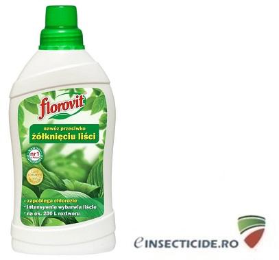Ingrasamant specializat lichid pentru prevenirea ingalbenirii frunzelor (1 L)