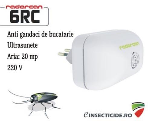 Anti gandaci de bucatarie cu ultrasunete (20mp) - Radarcan 6RC