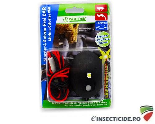 Generator ultrasunete pentru protectia automobilelor impotriva daunatorilor (jderi, dihori, soareci, sobolani) - Marten Cats Free 78420