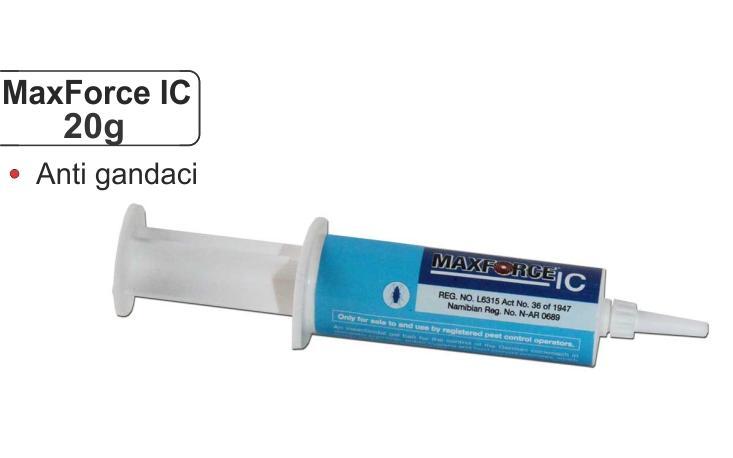 Gel pentru combaterea gandacilor de bucatarie - MaxForce IC White (20 gr)