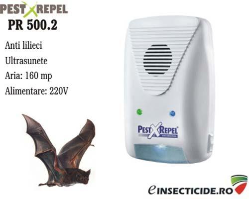 Aparat cu ultrasunete impotriva liliecilor (160 mp) - PR 500.2