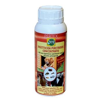 Insecticid concentrat lichid impotriva insectelor zburatoare si taratoare (anti purici) - Pertex (500ml)