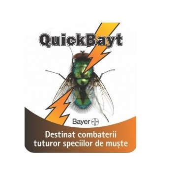 Insecticid granule impotriva mustelor (30gr) - QuickBayt
