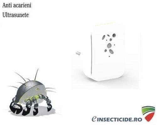Dispozitiv cu ultrasunete anti acarieni si purificator de aer (40mp) - R502