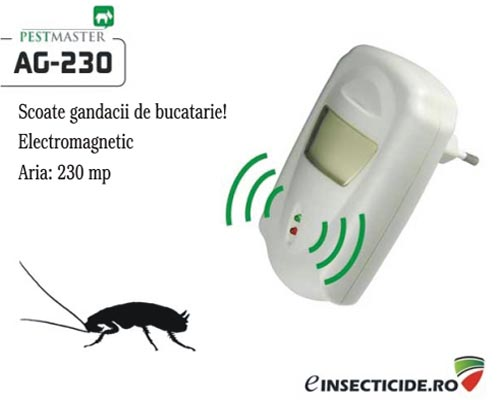 Pest Repeller anti gandaci si rozatoare (230mp) - Pestmaster AG230