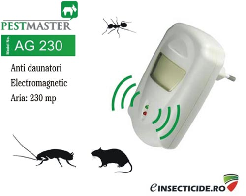 Pest Reject dispozitiv cu unde electromagnetice impotriva furnicilor (230mp) - AG230