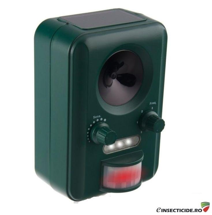 Animal Stop - Dispozitiv anti rozatoare cu ultrasunete si flash-uri luminoase