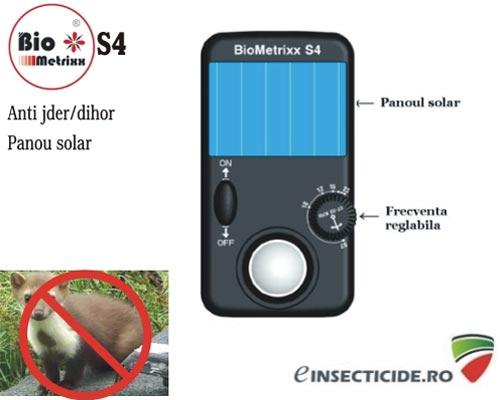 Aparat contra rozatoarelor precum jder si dihori (25 mp) - Biometrixx S4