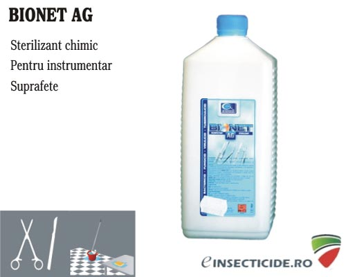 Dezinfectant concentrat pentru suprafete - Bionet AG (1L)