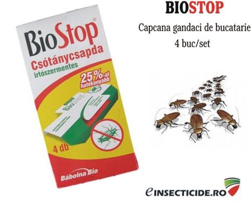 Placa adeziva anti gandaci Biostop (4 buc)