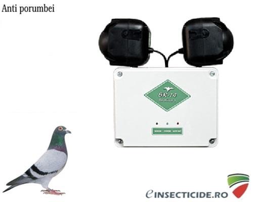 Aparat electronic pentru alungarea pasarilor de pe suprafete mari (pana la 5000 mp) - BR14