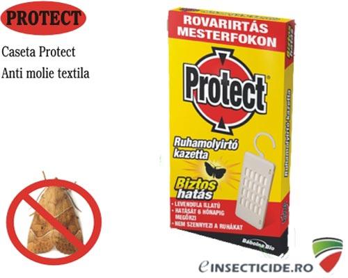 Caseta pentru distrugerea moliilor si larvelor din haine - Protect-B