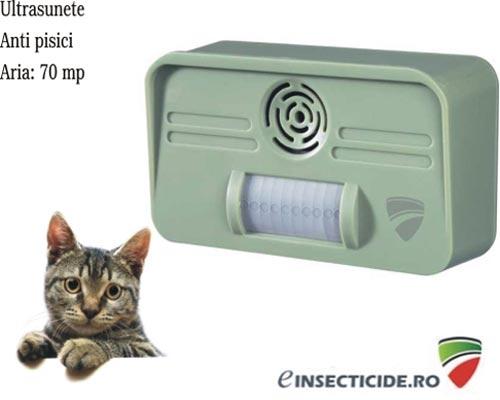 Dispozitiv pentru alungarea pisicilor Conrad (70mp)