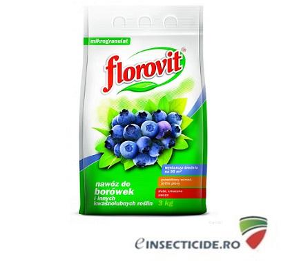 Ingrasamant specializat granulat pentru afine/rhododendroni (3 Kg)