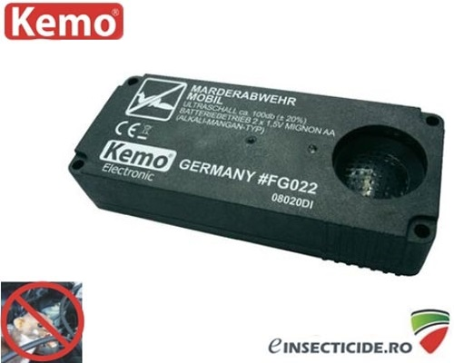 Aparat pentru alungarea jderilor Kemo (55 mp)- FG022