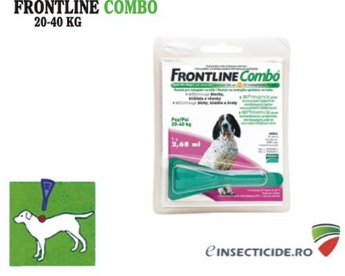 Frontline Combo Caine L - intre 20-40 kg