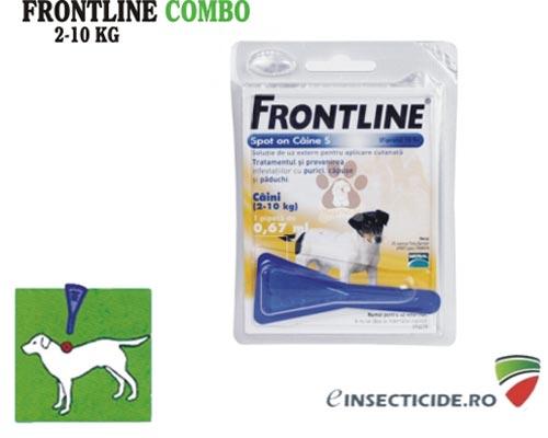 Frontline Combo anti purici, capuse, paduchi (2-10 kg)